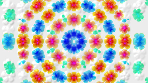 glint wild flower wreath,wedding background.bouquet,bunch,collage,floral,love,pattern Animation