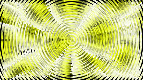 yellow circle wave,computer data background.underwater,river,lake,sea,ocean,particle Animation