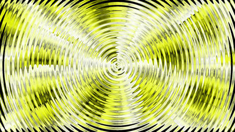 yellow circle wave,computer data... Stock Video Footage