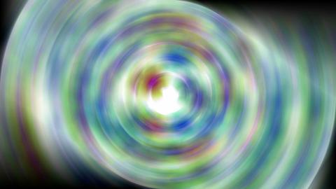 rotation deep circle tunnel,blur flower... Stock Video Footage