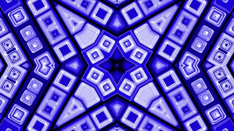 blue deform mosaics background,disco neon Music Stage... Stock Video Footage