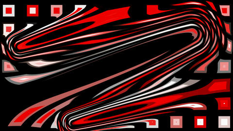 abstract red morph mosaics shape pattern.energy,fiber,speed,red,square Animation