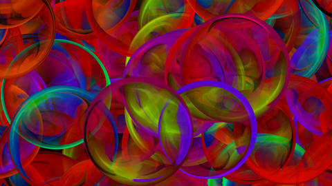 color glass balls is... Stock Video Footage