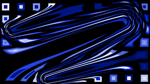 abstract blue morph shape... Stock Video Footage