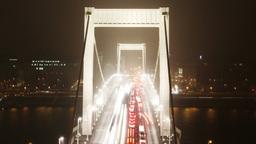 European City at Night Timelapse 31 Footage