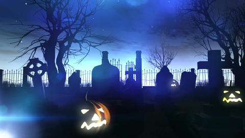 Halloween DOLLY 02 Stock Video Footage