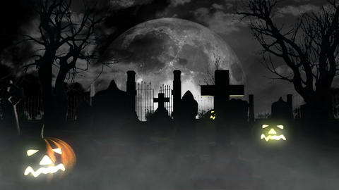 Halloween DOLLY 06 Stock Video Footage