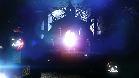 Halloween v3 04 Stock Video Footage