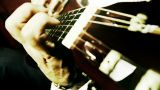 Musician and Acoustic Guitar 20 playing wide angle stylized artcolored Footage