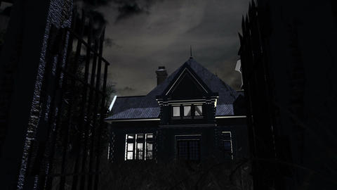 Scary House 01 Animation