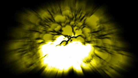 Nuclear Blast,explosion,yellow smoke.blow,bomb,destruction,explode,military,smoke Animation