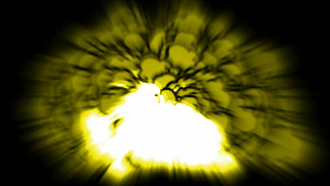 Nuclear Blast,explosion,yellow... Stock Video Footage