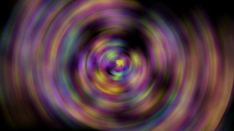 rotation deep circle tunnel,aura,blur flower... Stock Video Footage