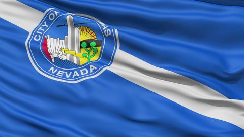 American State Capital City Flag of Nevada Kansas Stock Video Footage