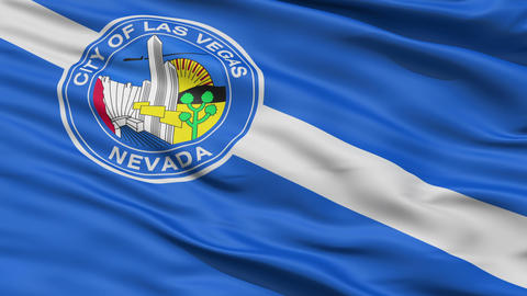American State Capital City Flag of Nevada Kansas Stock Video Footage
