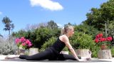 Fitness - Women exercise healthy peaceful Yoga lifestyle beach Footage