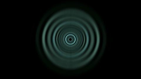 Time Tunnel,blue rotation circle light trails in 3D... Stock Video Footage