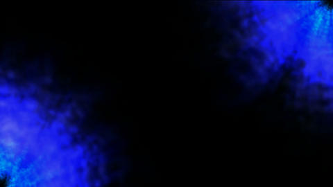 abstract blue circle... Stock Video Footage