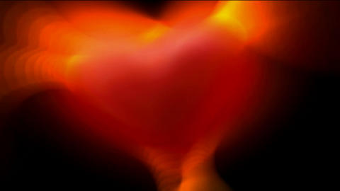 Red heart,heart... Stock Video Footage