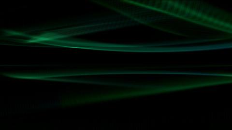 green motion light in dark... Stock Video Footage