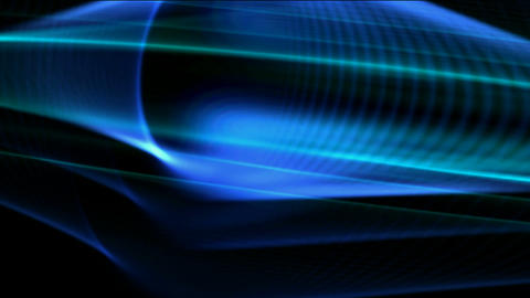 blue tech background,dazzling,oval... Stock Video Footage