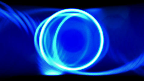 Animation of brilliant light... Stock Video Footage