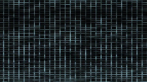 Animation of metal mesh... Stock Video Footage