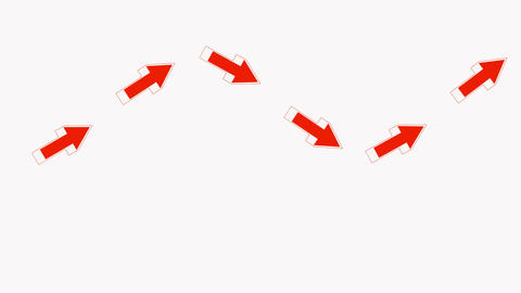 red arrows.click,connection,cursor,design,direction,icon Stock Video Footage