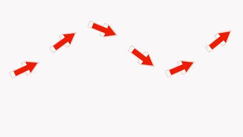red arrows.click,connection,cursor,design,direction,icon Animation