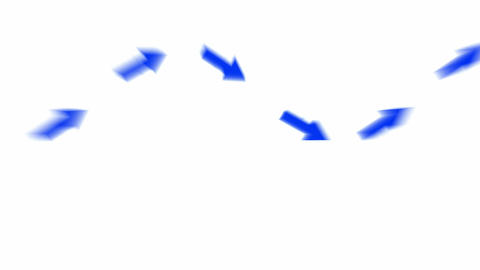moving blue arrows and light.click,connection,cursor,design,direction,icon Animation