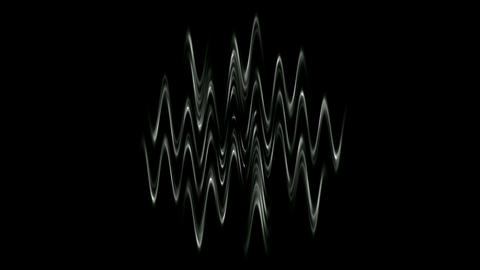 Magnetic field... Stock Video Footage