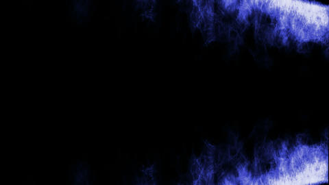 blue fire... Stock Video Footage