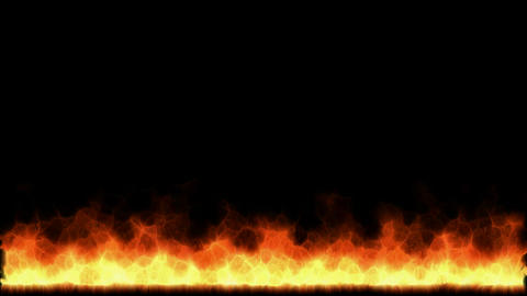 yellow fire... Stock Video Footage