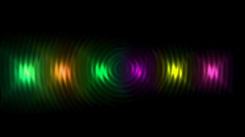 color neon light,disco... Stock Video Footage