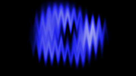 Blue waveform background.radio,recording,sound,voice Animation