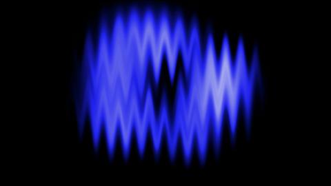 Blue waveform background.radio,recording,sound,voice Animation