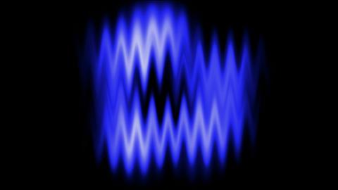 Blue waveform background.radio,recording,sound,voice Stock Video Footage