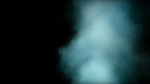 Smoke on black background Footage
