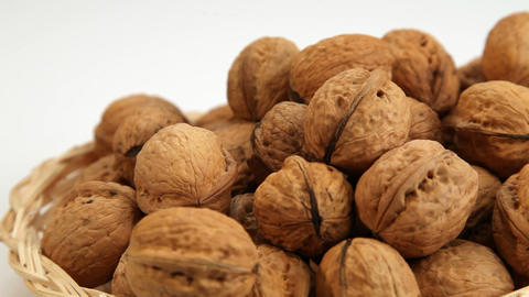 Walnuts Motion Background stock footage