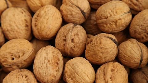 Walnuts, food background Footage
