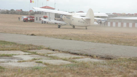 Ukrainian Airplane Live Action