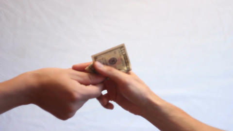 exchange: condoms for money Footage