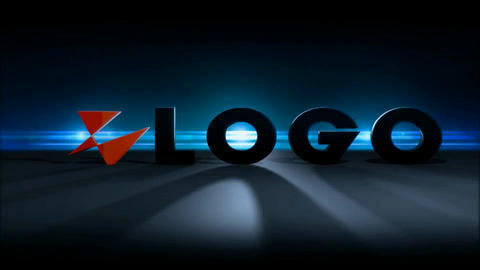 Backlit Logo After Effects Template