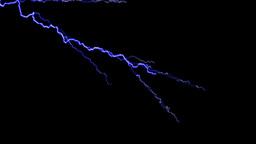 Blue lightning Bolt Blitz Animation