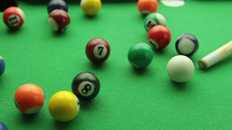 snooker balls tracking pack Footage