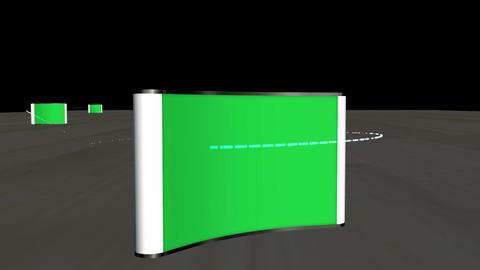 Three Screen Presentation: Green Screen Animation