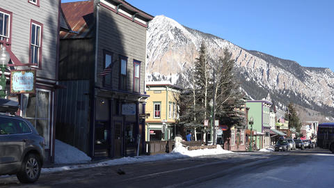 Downtown Crested Butte Colorado Live Action