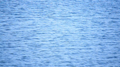 Water ripples on the lake Footage