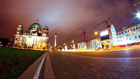 Timelapse of the Berliner Dom Footage