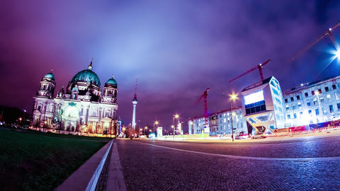 Timelapse of the Berliner Dom Live Action